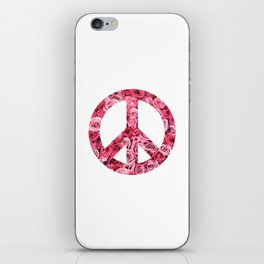 Peace and Flowers iPhone Skin