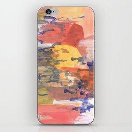 paisaje abstracto iPhone Skin