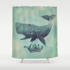 Tea at 2,000 Feet Shower Curtain