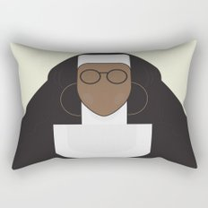 Sister Act - Movie Poster Minimalist Rectangular Pillow