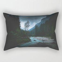 Landscape Mood #creek Rectangular Pillow