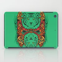tigers iPad Cases featuring Tigers by Ornaart