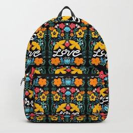 Love bird garden Backpack