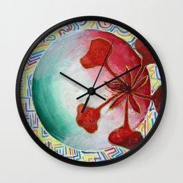 Royal Poinciana Xucunostli Wall Clock