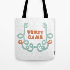 Trust Game. Tote Bag