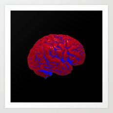 Brain of a Superhero - $piderman Art Print