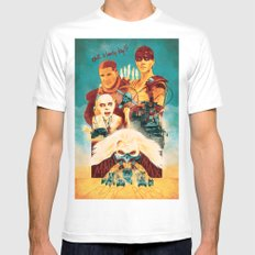 Mad Max Mens Fitted Tee X-LARGE White