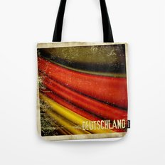 STICKER OF GERMANY flag Tote Bag
