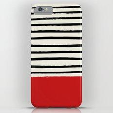 Red Chili x Stripes iPhone 6 Plus Slim Case