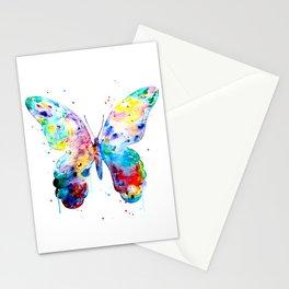 Butterfly Art Print - Colorful Butterfly Art - Nursery Art - Art Gift Stationery Cards