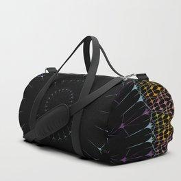 Glowing Mandala Art Duffle Bag
