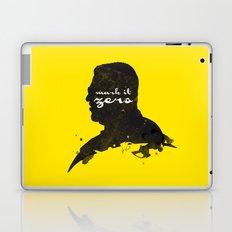 Mark it Zero –Walter Sobchak Silhouette Quote Laptop & iPad Skin