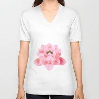 hawaiian V-neck T-shirts featuring Hawaiian by Christopher Bennett