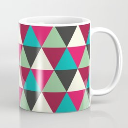Southwestern Tribal Triangle Pattern Coffee Mug
