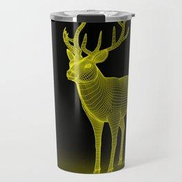 numeric deer 4 Travel Mug