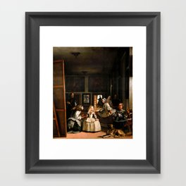 "Diego Velázquez ""Las Meninas (The Maids of Honour)"" Framed Art Print"
