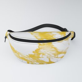 Gold Marble texture Fanny Pack