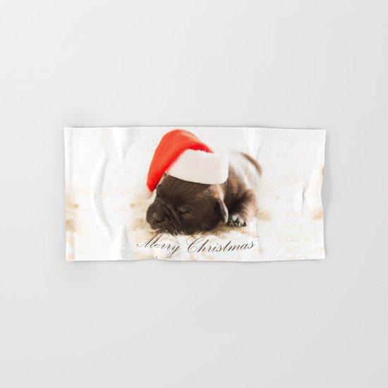 Cute Merry Christmas Hand & Bath Towel