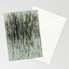 Emerald grass ~ Abstract Stationery Cards