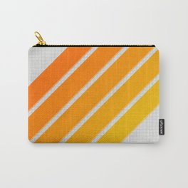 Orange Color Drift Carry-All Pouch