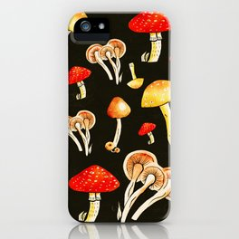 Brigt Mushrooms iPhone Case