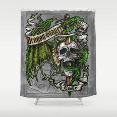 Dragon Slayer Elite Shower Curtain