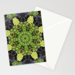 Filigree Foliage Kaleidoscope Stationery Cards