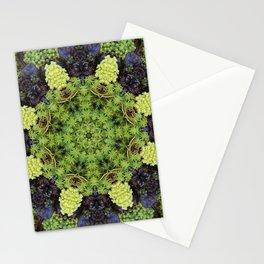 Filigree Foliage Kaleidoscope Stationery Cards