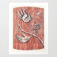 Living Hands Art Print