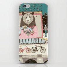 Bear's Cup of Tea iPhone & iPod Skin