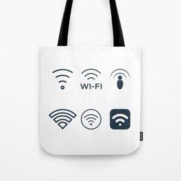 Wifi Signals Tote Bag