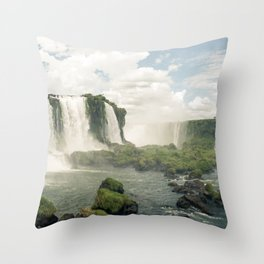 Foz Do Iguazu Throw Pillow