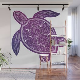 Space Turtle Wall Mural