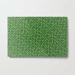 Control Your Game - Tradewinds Grass Metal Print