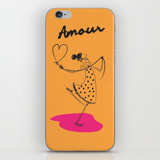 """The Ink - """"Amour"""" iPhone & iPod Skin"""