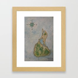 Block Island Framed Art Print