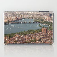 boston iPad Cases featuring boston by shannonblue