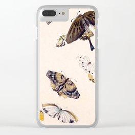 Butterflies Clear iPhone Case