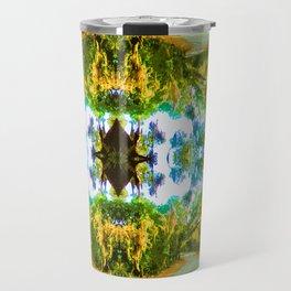 Psychedelic Trees Travel Mug