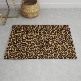 Leopard Print   Cheetah texture pattern Rug