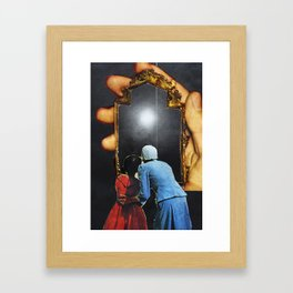 Reflections of Light Framed Art Print