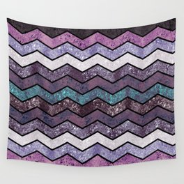 Glitter Waves IV Wall Tapestry