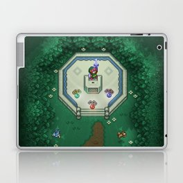 Zelda Mastesword Pixels Laptop & iPad Skin