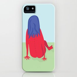 Day in the Park iPhone Case