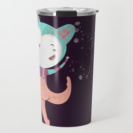 Dance Dreams (Purple) Travel Mug