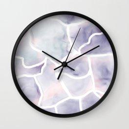 Watercolor stone texture Wall Clock