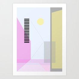 Geometric Calendar - Day 5 Art Print