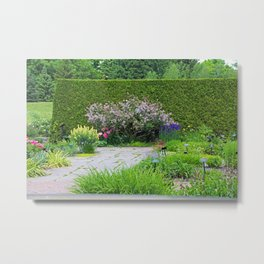 Someone in the Garden Metal Print