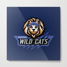 TWRP Commander Meouch (Wild Cats) Metal Print