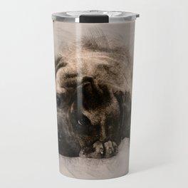 Bullmastiff Puppy Sketch Travel Mug